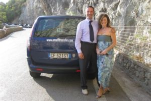 Joan and Anthony in Amalfi