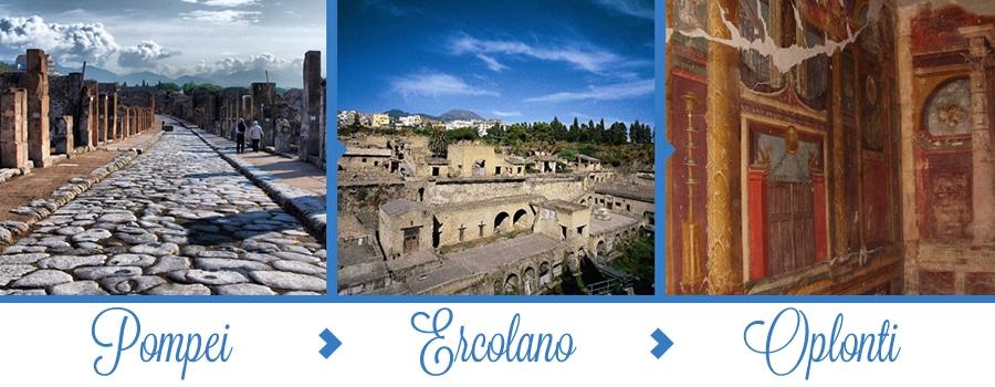 Tour Pompei Ercolano Oplonti
