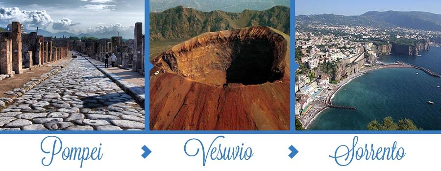 Tour Pompei Vesuvio Sorrento