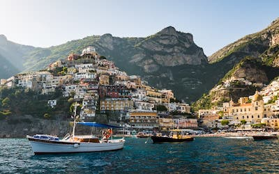 boat excursion in Positano