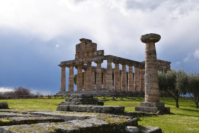 Paestum-temples
